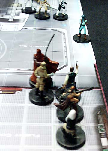 Star Wars Miniatures Demo at GenCon 2004