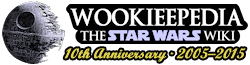 Wookieepedia, the Star Wars wiki, Logo